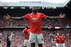 Romelu Lukaku of Man Utd. Photo / AP