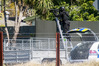 Armed police are assisting with a search warrant at an Ahuriri address. PHOTO/WARREN BUCKLAND.