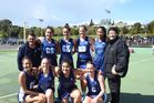 Secondary Schools Netball Championship winning Senior Premier team Te Awamutu College Open. Photo / Supplied