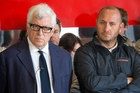 Luna Rossa boss Patrizio Bertelli, left, told Turin newspaper <i>La Stampa</i> the Italian camp loaned Team NZ their test platform