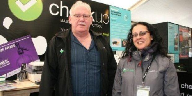 Farm Medix entrepreneurs Natasha Maguire and Leon Spurrell.