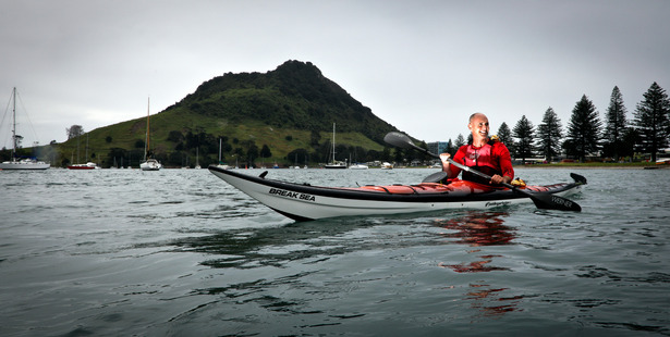 Loading Marine life kayaker Nathan Pettigrew holds a special permit to spend time with marine mammals in Tauranga Harbour. Photo/Andrew Warner
