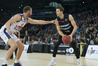Tom Abercrombie, right, in action against Brisbane Bullets last year. Photo: File