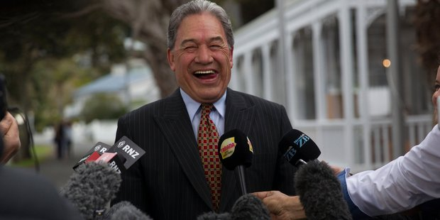 Winston Peters hits out at media in fiery press conference