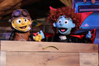 A scene from Buzz's Fright Night, the new production from Whoa! Studios landing just in time for school holidays.