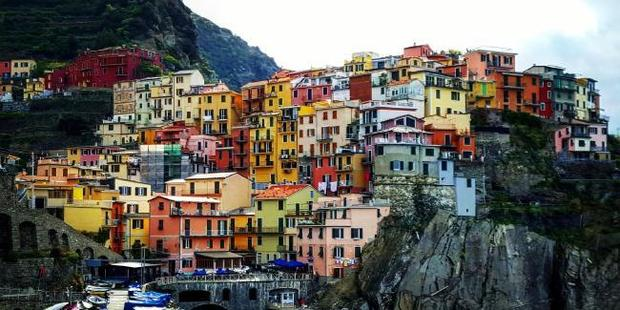 I posted this image to Instagram after visiting the town of Manarola. Photo / Kirrily Schwarz