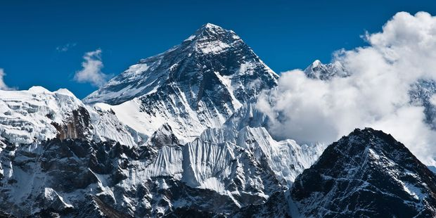 The Indian government's mapping organisation Survey of India will send an expedition to the world's tallest peak later this year. Photo / 123RF