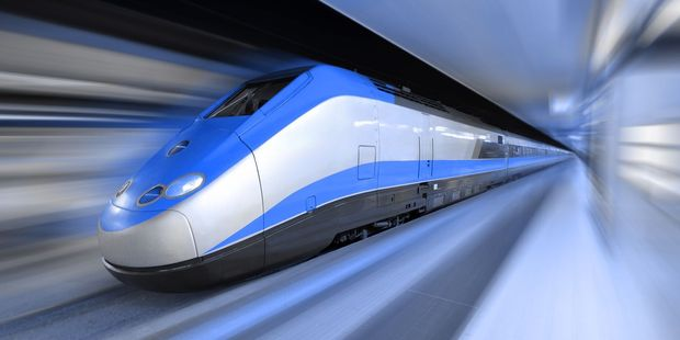 Loading South Korea wants to create an 'ultra-fast' train it hopes will be able to carry passengers at almost the speed of sound. Photo / 123RF