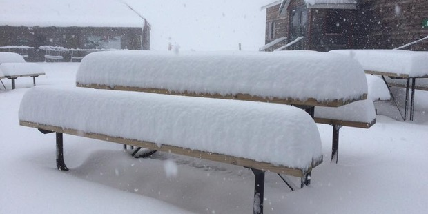 Loading A picture from this morning at Cardrona Alpine Resort, 40km northeast of Queenstown. Photo/Cardrona Alpine Resort Facebook