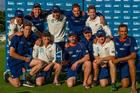 NZ Black caps win the ANZ Test Trophy against Bangladesh at Hagley Oval, Christchurch. Photo/Photosport