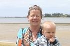 Summer holidays: Trish Craig and Kingston Gardner. 25 January 2017 The Bay of Plenty Times Photograph by John Borren