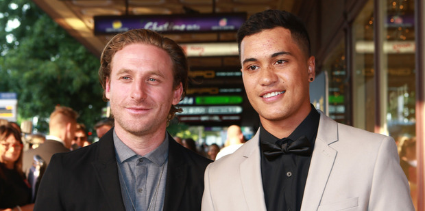 Loading Dean O'Gorman and James Rolleston attend the premiere of Pork Pie at The Civic in Auckland. Photo/Norrie Montgomery