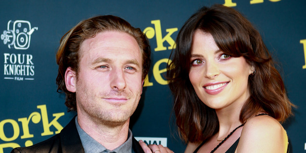 Dean and Sarah O'Gorman attend the premiere of Pork Pie at The Civic in Auckland. Photo/Norrie Montgomery