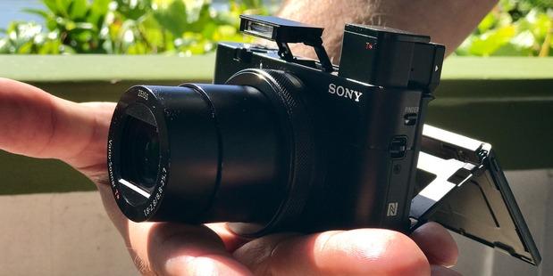 Sony rx100 v expanded. Photo / Juha Saarinen