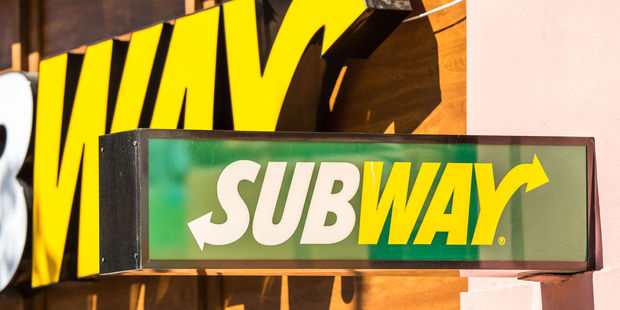 A South Auckland Subway fast food outlet has allegedly been robbed by the same person three weeks in a row. Photo / 123RF