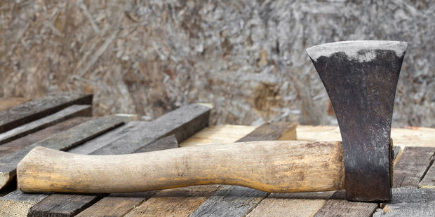 A West Auckland father is so afraid after his partner's sons were chased by a stranger in a van that he now sleeps with an axe. Photo / 123rf.com