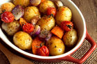 The FSA wants people to avoid browned roast potatoes. Photo / 123RF