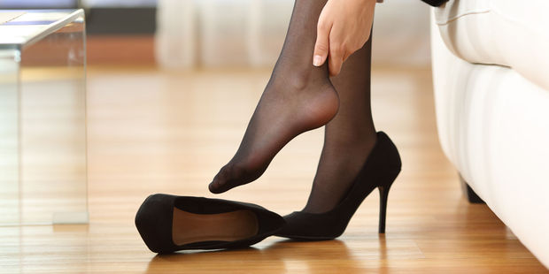 Women revealed how they were made to wear short skirts and six-inch stiletto heels whilst at work. Photo / 123RF