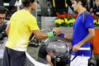 Federer and Nadal - a magnificent rivalry central to one of the greatest eras in tennis. Photo / Photosport