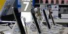 Samsung Electronics Galaxy Note 7 smartphones in Seoul, South Korea, last September. Photo / AP file