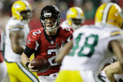 Atlanta Falcons' Matt Ryan runs for a touchdown during the first half of the NFL football NFC championship game against the Green Bay Packers. Photo / AP