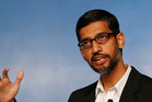 Google chief executive Sundar Pichai. Photo / AP
