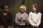 Mary J. Blige, who supported Hillary Clinton's campaign and sang at President Obama's 2009 inauguration, called President Trump a 'racist' at the Sundance Film Festival Saturday while promoting her film 'Mudbound' with co-star Carey Mulligan.