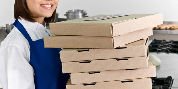 A customer attempted to blackmail the pizza deliverer when she refused to send him photos. Photo / Getty Images