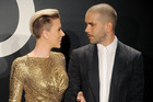 Actress Scarlett Johansson and husband Romain Dauriac arrive at the Tom Ford Autumn/Winter 2015 Womenswear Collection in 2015. Photo / Getty