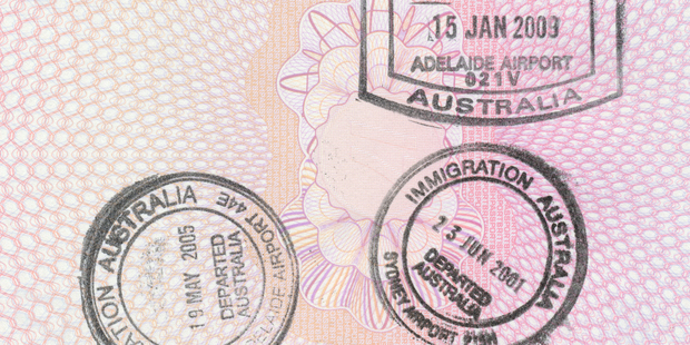 People arriving in Australia would no longer be required to show their passports. Photo / Getty Images