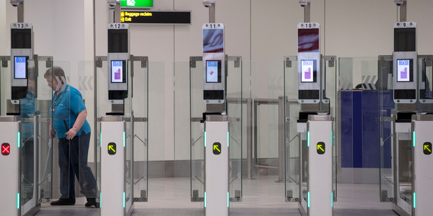 Passport gates like these could also become a thing of the past. Photo / Getty Images