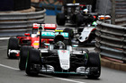 Nico Rosberg leads Sebastian Vettel at the Monaco Grand Prix. Photo / Getty Images