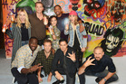 Some of the cast members from Suicide Squad. Photo / Getty