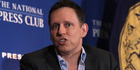 Peter Thiel has an estimated worth of US$2.7 billion, according to Forbes magazine. Photo / Getty Images