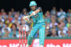Brendon McCullum in action during a Big Bash League match for the Brisbane Heat. Photo / Getty