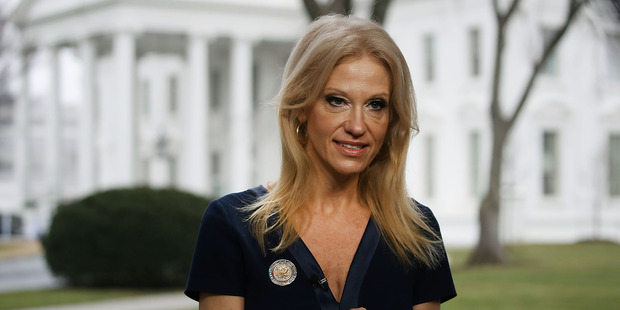 Counselor to President, Kellyanne Conway, said this morning that Trump will not release his tax returns. Photo / Getty