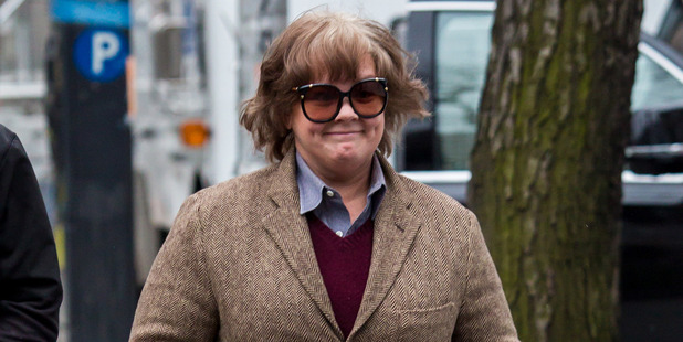 Melissa McCarthy is seen filming 'Can You Ever Forgive Me' on January 23, 2017. Photo / Getty