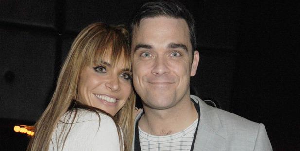 Ayda Field and husband Robbie. Photo / Getty