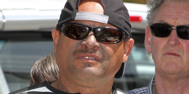 Mongrel Mob president Rex Timu says P addiction fell from 80 to 10 per cent in his chapter, lodges a Waitangi Tribunal claim against 'racist' health policies. Photo: Duncan Brown / HBT