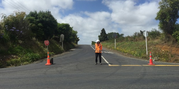 A police spokeswoman said Beatty Rd in Pukekohe had been cordoned off as a precaution. Photo / Michael Craig