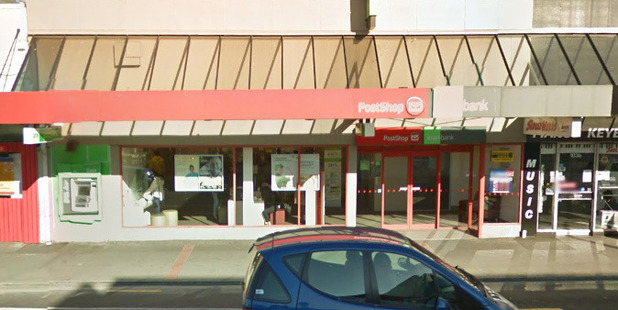 The incident occurred at KiwiBank on Riccarton Rd about 12.30pm. Photo / Google