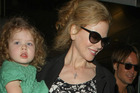 Nicole Kidman with her youngest daughter Sunday Rose. Photo / Getty