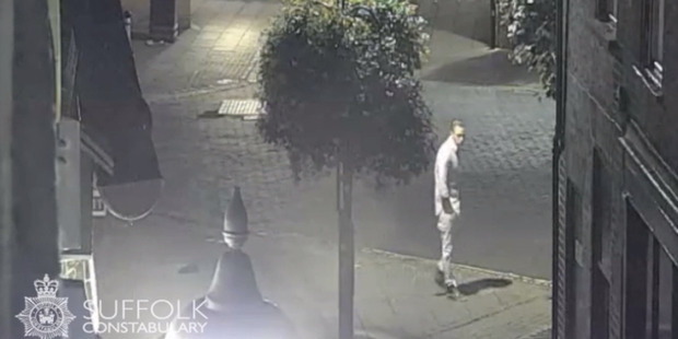 Loading Corrie McKeague, 23, vanished after a night out in Bury St Edmunds in September and has not been seen since. Photo / Suffolk Police