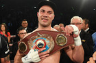 New Zealand heavyweight boxer Joseph Parker after defeating Andy Ruiz Jr. for the WBO World Heavyweight Title. Photo/Photosport