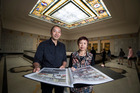 Writer Helene Wong and graphic novelist Ant Sang have collaborated on an Auckland Museum project as part of the Lantern Festival.  New Zealand Herald photo by Jason Oxenham.