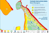 Incorrect Tsunami evacuation maps were sent to a number of Tauranga households after a delivery error by New Zealand Post. PHOTO/FILE