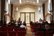 The chapel of the Church of Scientology's new Grafton premises. Photo / Doug Sherring