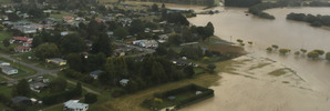 Southland town cut off by flooding