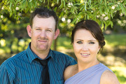 Aaron and Anah McDonald. Aaron and his 8-year-old son Cruz died when the truck they were in crashed through a barrier on State Highway 2. Photo/Supplied