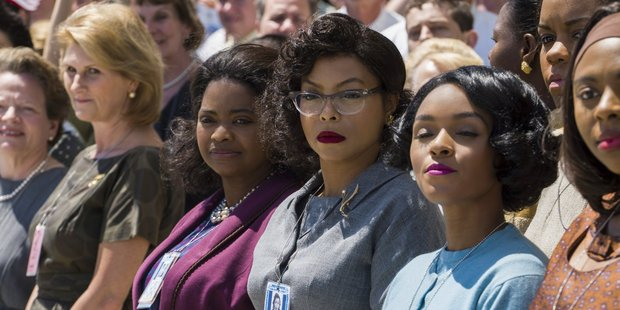 Loading Hidden Figures is one of the films that has helped diversify the Oscars this year. Photo/Supplied